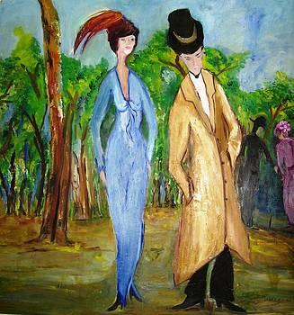 The Couple by Doris Cohen