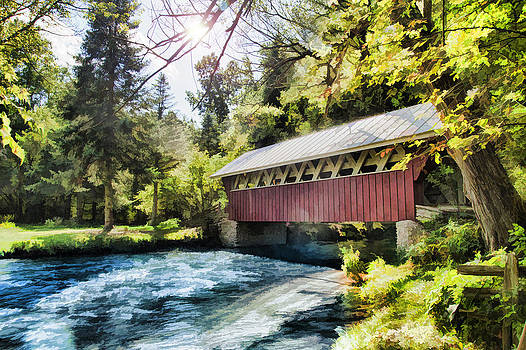 Joel Witmeyer - The Covered Bridge at The Red Mill