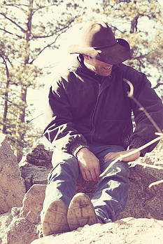 The Cowboy Poet by Loud Waterfall Photography Chelsea Sullens