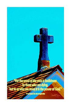 The Cross by Sharon  Lavoie