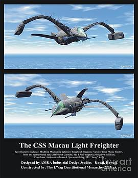 Walter Oliver Neal - The CSS Macau Light Freighter
