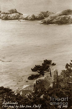 California Views Mr Pat Hathaway Archives - The D. L. James house also known as Seaward sits on a rocky cliff near Carmel Circa 1940