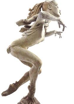 The Ballet Lesson by Tsvetana Yvanova