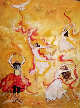 The Dance by Paula Stacy Adams