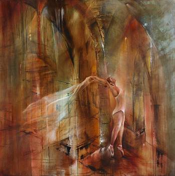 The dancer by Annette Schmucker