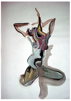 The dancer - La danseuse by Pascal Gibon