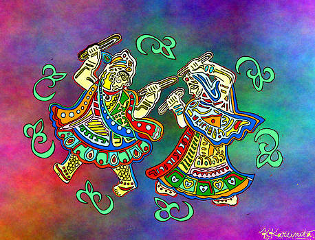 The Dancing Deities by Karunita Kapoor