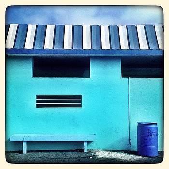 The Dark Blue Barrel by Lauren Dsf