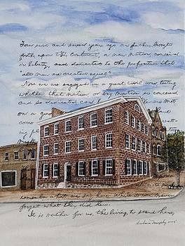 The David Wills House 1816 by Barbara Murphy