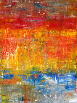 The Day  by Tanya Lozano Abstract Expressionism