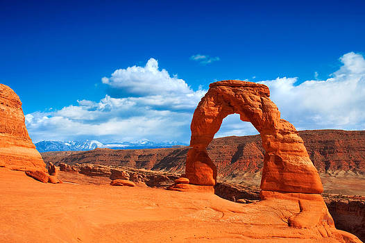 The Delicate Arch by Darren Bradley