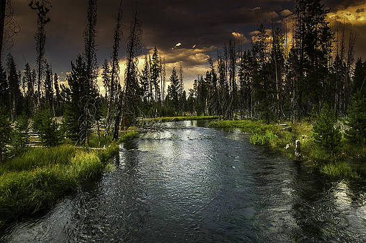 The Deschutes River by Jean-Jacques Thebault