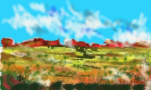 The Desert and the Watcher Unseen by Arjun L Sen