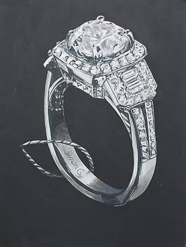 The diamond ring by Danielle Allard