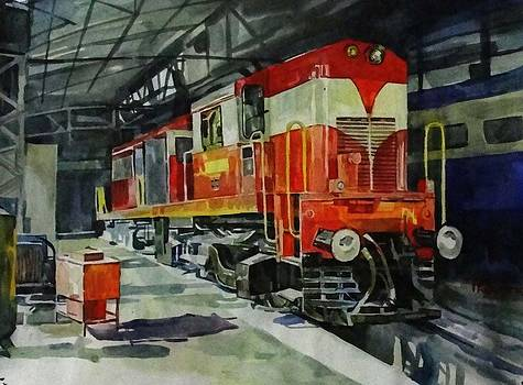The diesel shed by Prashant Srivastava