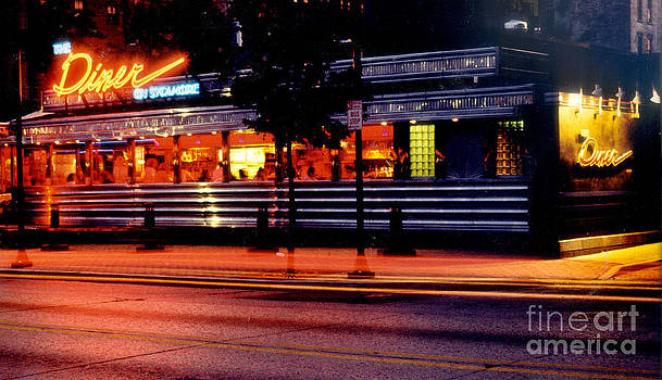 The Diner on Sycamore by Gary Gingrich Galleries