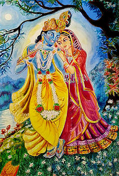 The Divine Couple by Manju Chaudhuri