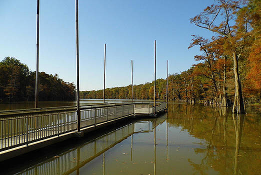 The Dock at Cooks Lake by Kay Sparks
