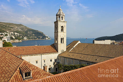 The Dominican Monastery in Dubrovnik by Kiril Stanchev