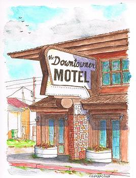 The Downtowner Motel in  Route 66, Williams, Arizona by Carlos G Groppa