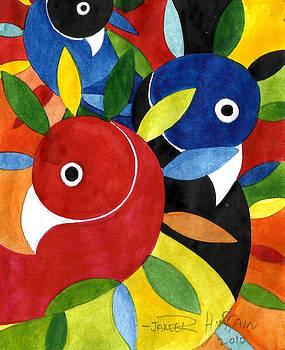 The Dream Birds by Jakeer Hussain