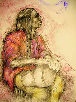 The drum talks by Johanna Elik