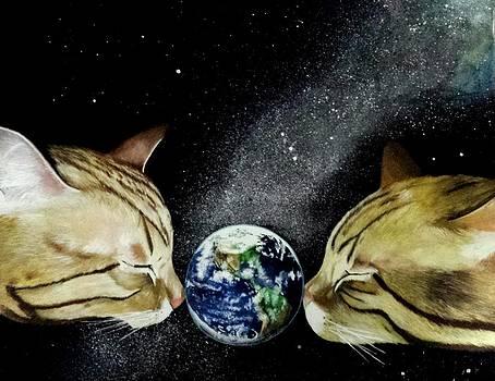 The earth by Kohdai Kitano