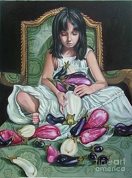 The Eggplant Princess by Shelley Laffal
