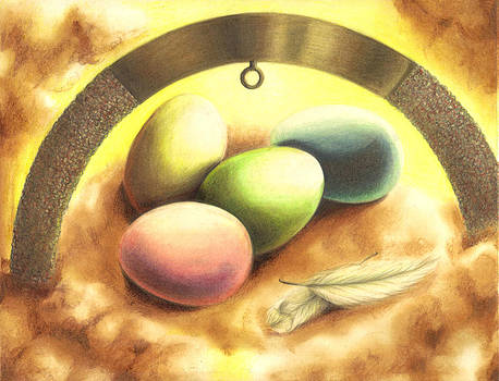 The Eggs of the New Life by Reve Art