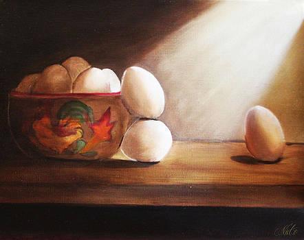The Eggscape by Nicko Gutierrez