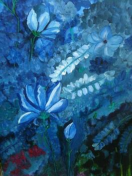 The Elusive Blue Flower by Faye Silliman