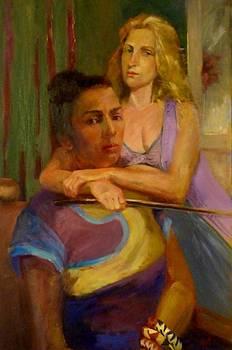 The Embrace by Irena  Jablonski