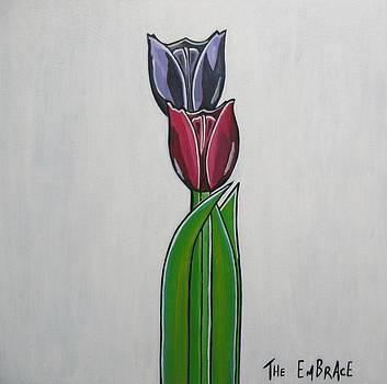 The Embrace by Sandra Marie Adams
