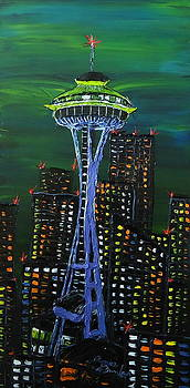 The Emerald City 2 by Portland Art Creations