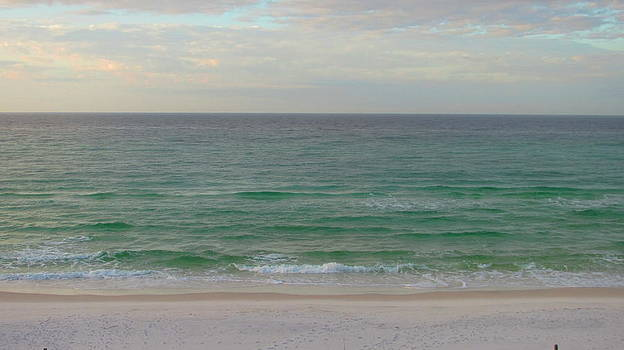 The Emerald Coast at Grayton Beach by Denise   Hoff