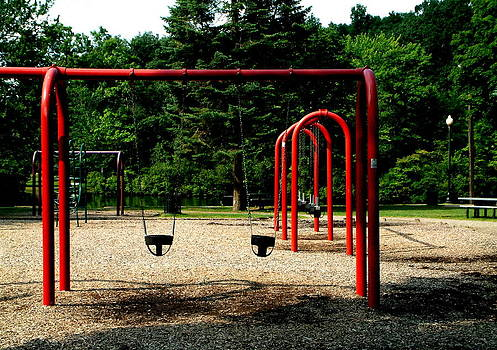 The Empty Playground by Mike McCool
