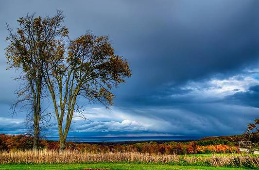 The end of a rainy day by Jeff S PhotoArt