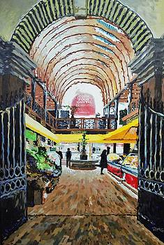 The English market by Rick McGroarty
