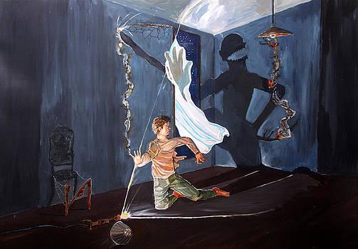 The entity of fear by Lazaro Hurtado