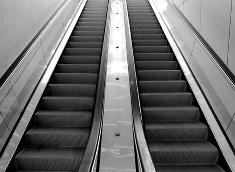 The Escalator by Bob Mintie