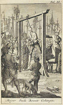 The Execution In 1718 Of Stede Bonnet by British Library