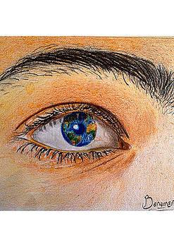 The eye by Abiodun Bewaji