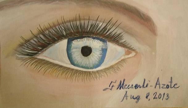 The eye by Fladelita Messerli-
