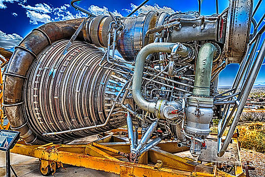 The F-1 Rocket Engine by Scotts Scapes