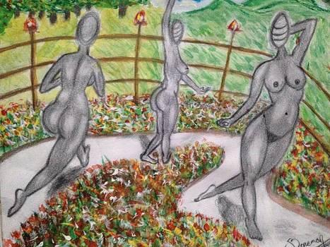 The faceless women by Abiodun Bewaji
