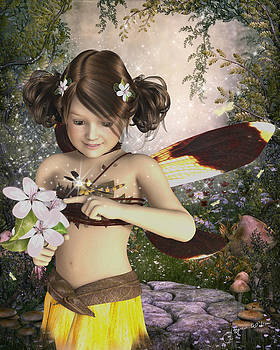 Jayne Wilson - The Fairy and the Dragonfly