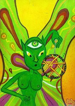The Fairy of Nightmares by Diego  Zegarra