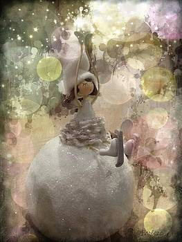 The Fairy of winter lights by Barbara Orenya