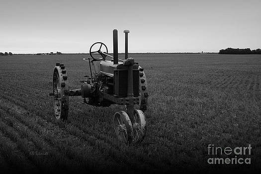The Faithful Old Tractor by E B Schmidt
