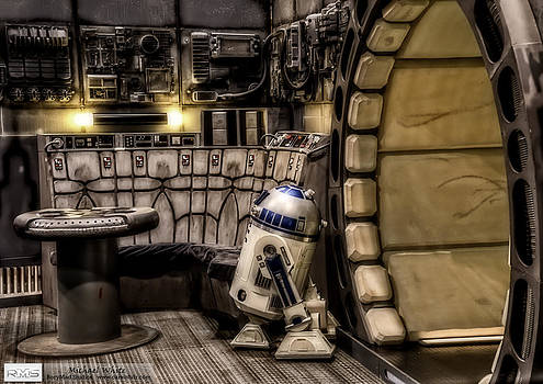 The Falcon's Lounge in HDR by Michael White